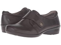 Naturalizer Calinda Oxford Brown Leather Women's Shoes
