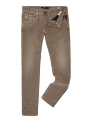Replay Anbass Slim Fit Jeans Brown