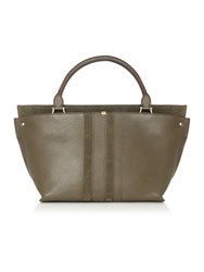 Dickins And Jones Olina Tote Handbag Olive