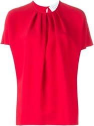 Gianluca Capannolo 'Judy' Blouse Red