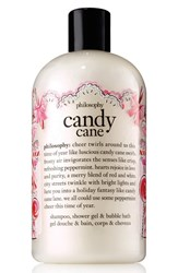 Philosophy 'Candy Cane' Shampoo Shower Gel And Bubble Bath