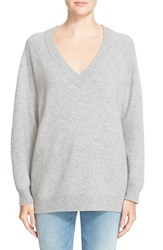 Alexander Wang Women's T By Wool And Cashmere V Neck Sweater
