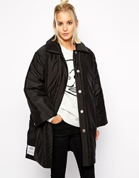 Cheap Monday Padded Coat Black