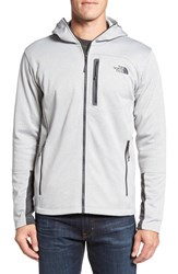 The North Face Men's 'Canyonlands' Full Zip Hoodie Tnf Light Grey Heather