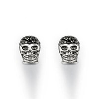 Thomas Sabo Rebel At Heart Black Skull Ear Studs