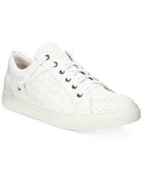 Kenneth Cole New York Men's Double Helix Ii Textured Sneakers Men's Shoes White