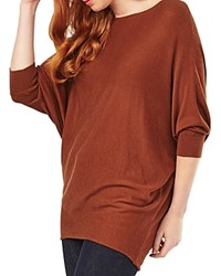 Phase Eight Becca Batwing Sweater Tobacco