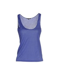 Scaglione Topwear Vests Women Purple