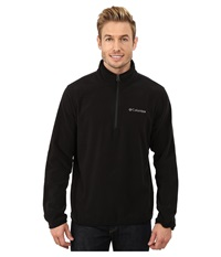 Columbia Ridge Repeat Half Zip Fleece Black Men's Coat