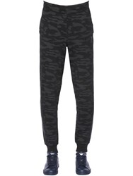 Emporio Armani Camouflage Cotton Jogging Pants