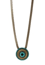 Konplott Tribal Necklace Petrol