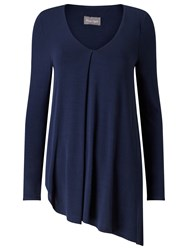 Phase Eight Agatha Asymmetric Top Navy