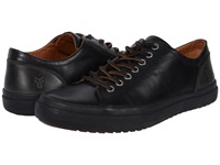 Frye Grand Low Lace Black Smooth Vintage Leather Men's Lace Up Casual Shoes