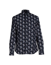 Desigual Shirts Dark Blue