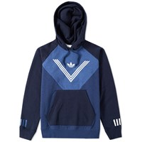 Adidas X White Mountaineering Graphic Hoody Blue