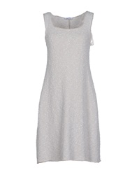 Base London Base Short Dresses Light Grey