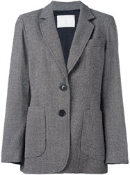Societe Anonyme Two Button Jacket Grey