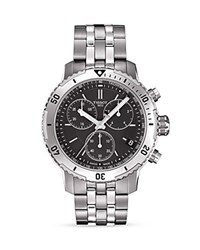 Tissot Prs 200 Chronograph 41Mm Black Silver