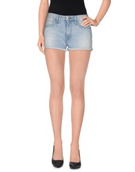 Cycle Denim Denim Shorts Women Blue