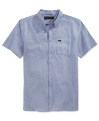 Kr3w Men's Matthews Short Sleeve Pocket Shirt Navy Heather