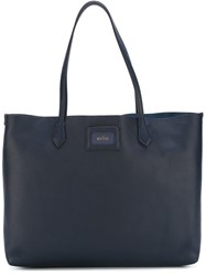 Hogan Large Shopping Bag Blue