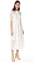 Temperley London Berry Lace Dress White