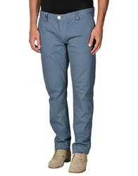 Cycle Trousers Casual Trousers Men Dark Blue