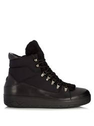 Moncler Aile Froide Ankle Boots Black Multi