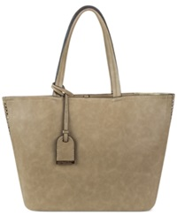 Kenneth Cole Reaction Clean Slate Medium Shopper Perforated Putty