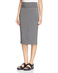 Eileen Fisher Petites Foldover Knit Skirt Ash