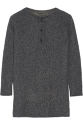 The Elder Statesman Effa Oversized Cashmere And Silk Blend Sweater