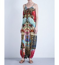 Camilla Balloon Silk Jumpsuit Wondrous