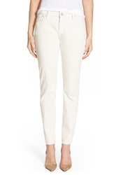 Earnest Sewn 'Sloan' Slim Straight Leg Jeans Aged White