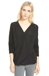 Trouve Women's Trouve Drape Top Black