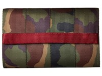 Harveys Seatbelt Bag Streamline Wallet Camo Bill Fold Wallet Multi