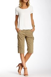 Marrakech Canyon Bermuda Short Beige