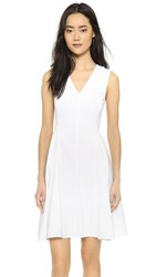 Theory Kalsington Dress White