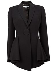 Givenchy Flared Hem Blazer Black