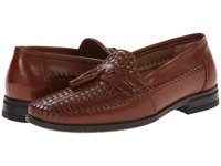 Nunn Bush Strafford Woven Cognac Men's Slip On Shoes Tan
