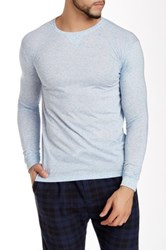 Bottoms Out Basic Long Sleeve Tee Blue