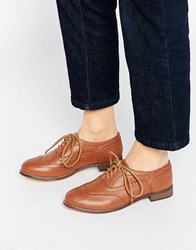 London Rebel Barnaby Brogues Tan