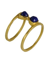 First People First Jewellery Rings Women Blue