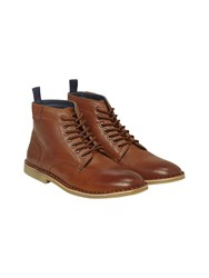 White Stuff George Lace Up Boots Natural