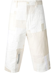 Junya Watanabe Comme Des Garcons Man Patchwork Shorts