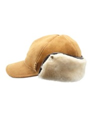 Ugg Sheepskin Polson Hat Chestnut Chocolate