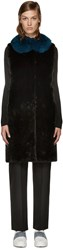 Yves Salomon Black Fur Vest