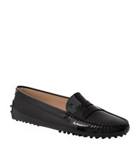 Tod's Gommino Patent Driving Shoe Female