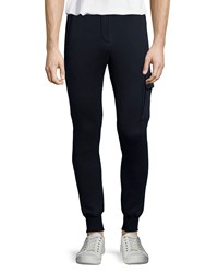 Atm Anthony Thomas Melillo Atm Terry Pull On Sweatpants Navy