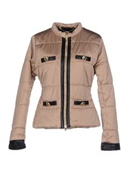 Cristinaeffe Coats And Jackets Jackets Women Beige