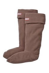 Hunter Fleece Welly Socks Gray